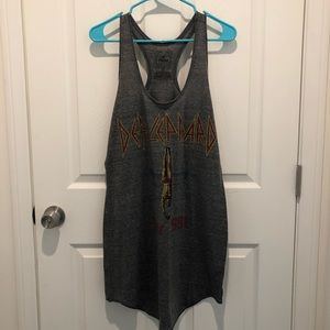 Like New Def Leppard Trunk t-shirt dress